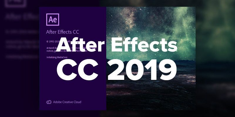 After Effects , آموزش After Effects , افترافکت ,After Effects 2019