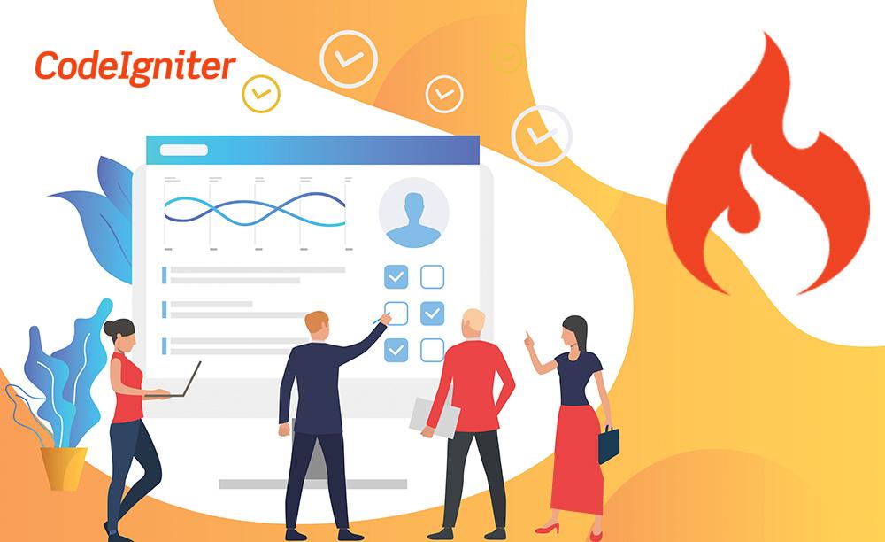 CodeIgniter ,سیستم آزمون آنلاین ,فریم ورک,php,,,