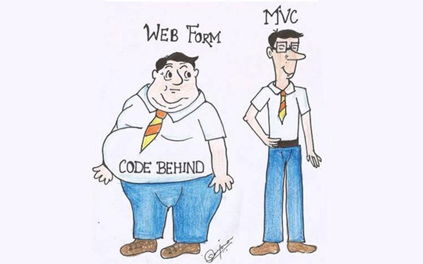 مقایسه webform و MVC